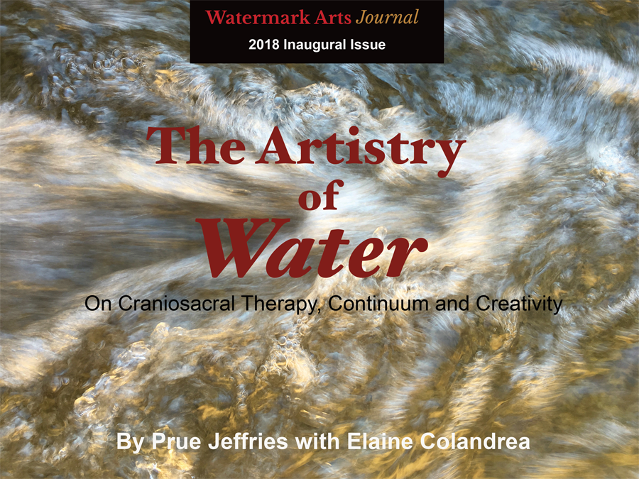 ARTISTRY OF WATER living as a dynamic process