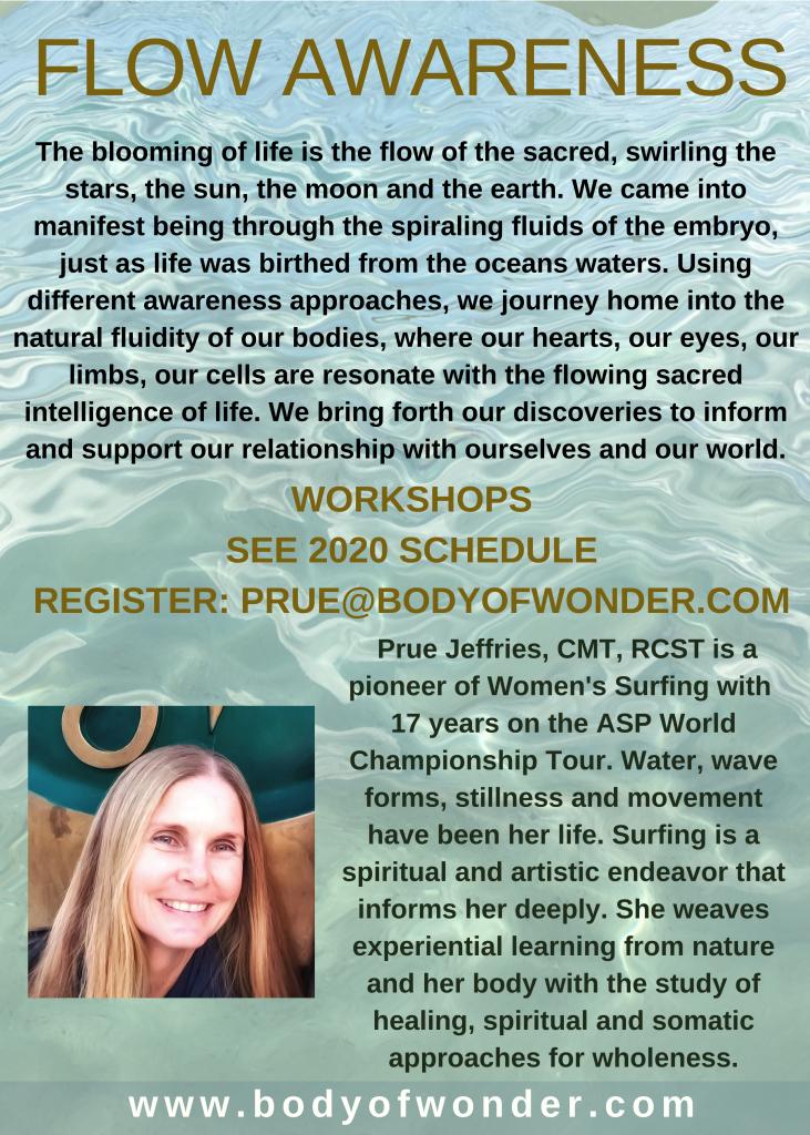 Body of Wonder - Flow Awareness Classes Spring 2020